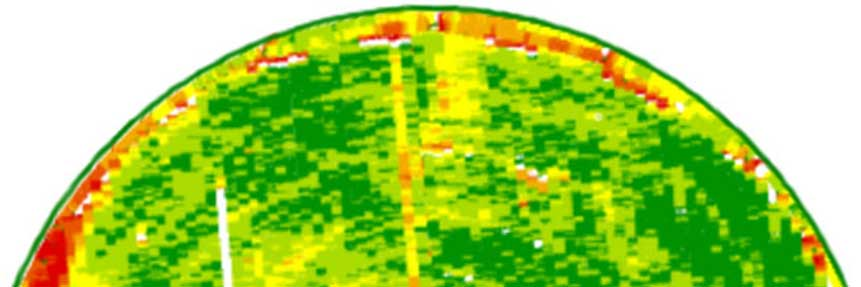 example crop yield mapping