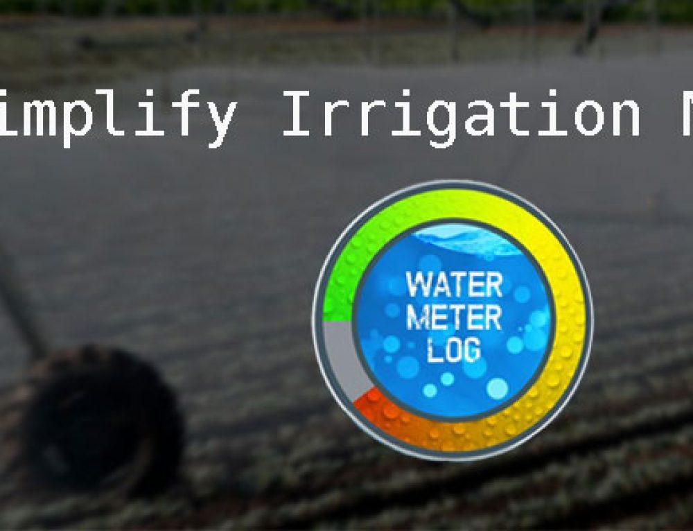 Monitoring Water Use Through Water Meter Log