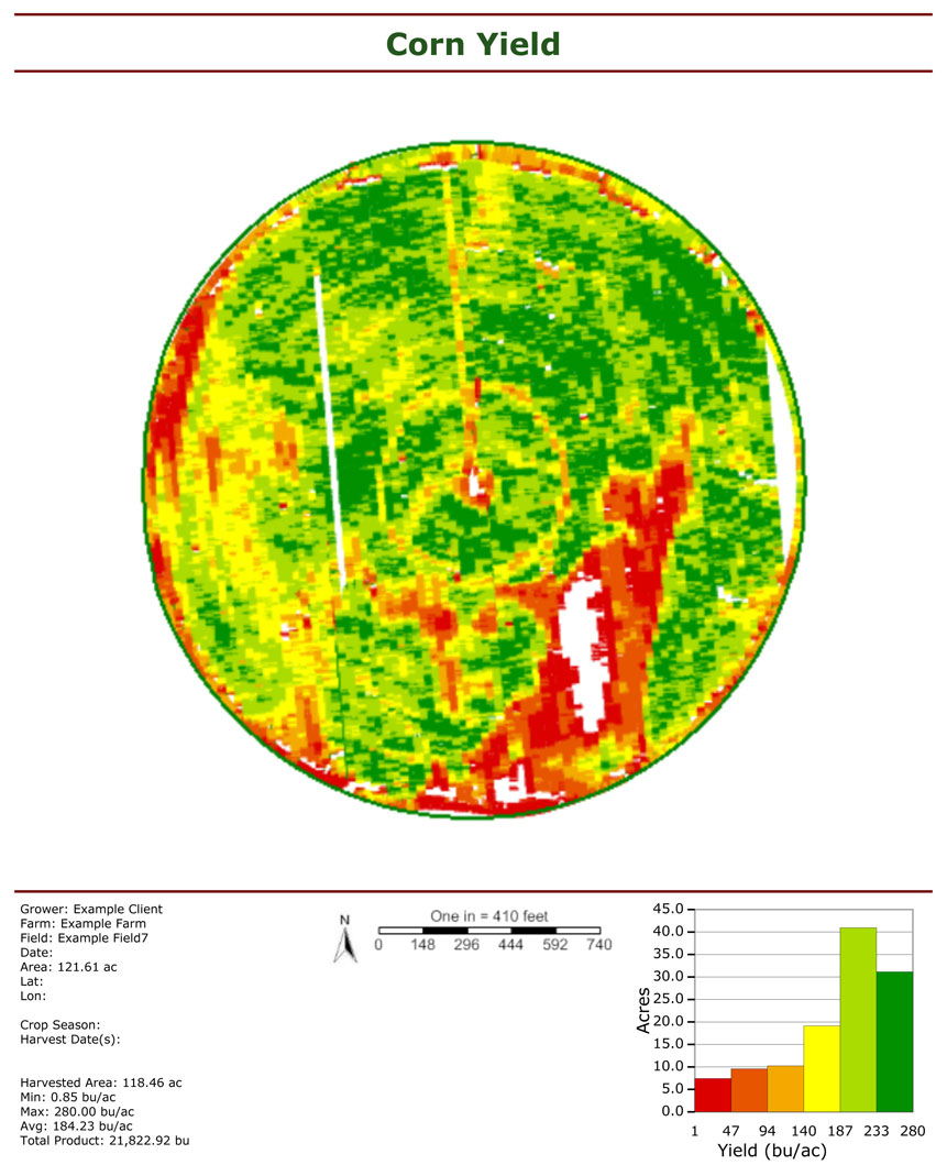 Yield ysis - Crop Quest on policy mapping, texture mapping, soil mapping, title mapping, power mapping,
