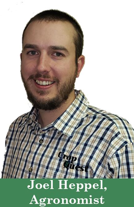 Joel Heppell, Agronomist