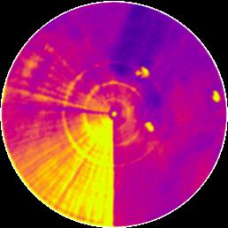 Smart Pivot Monitoring Thermal Image 1