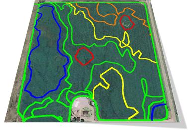 Soil Sampling Zones